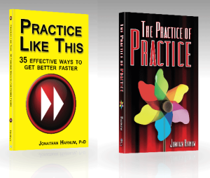 Don't practice longer, practice smarter. On Amazon, free shipping to Europe, Australia, and South America from Sol Ut Press.